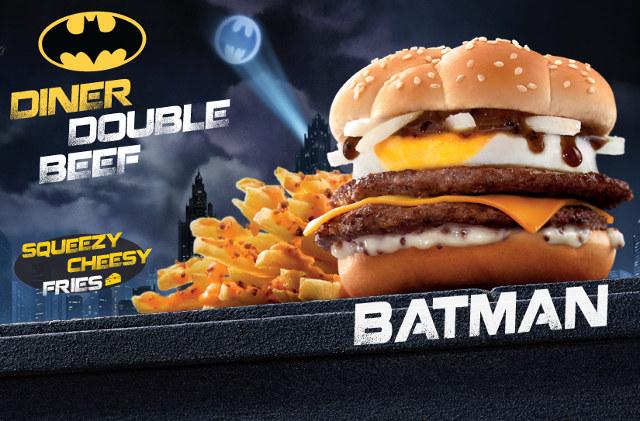 El menú de la Liga de la Justicia en McDonalds de China