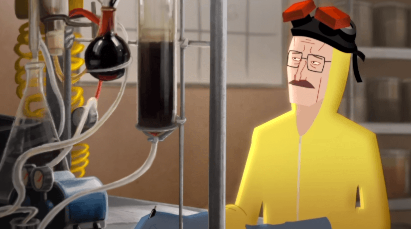 Breaking Bad a lo Frozen