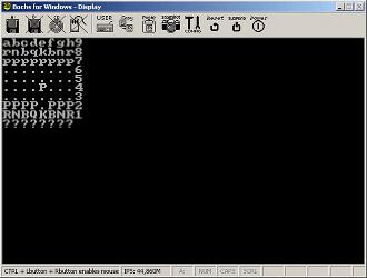 El juego de ajedrez de tan solo 487 bytes
