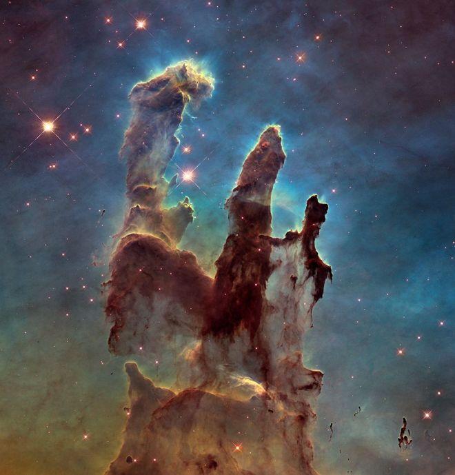 pilares de la creacion - NASA - mejorado - unpocogeek.com