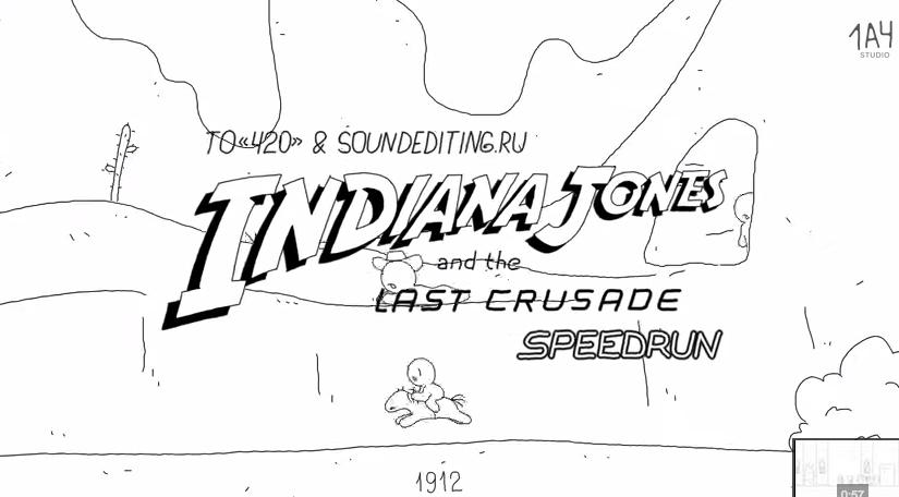 Indiana Jones y la última cruzada en 60 segundos
