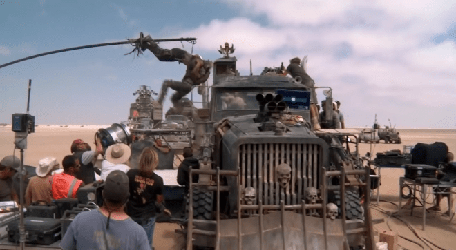Mad Max_ Fury Road_ Full Behind the Scenes Movie Broll - Tom Hardy, Charlize Theron_unpocogeek.com