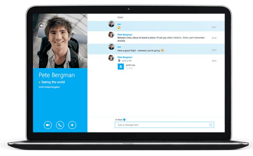 Skype web ya disponible para todos
