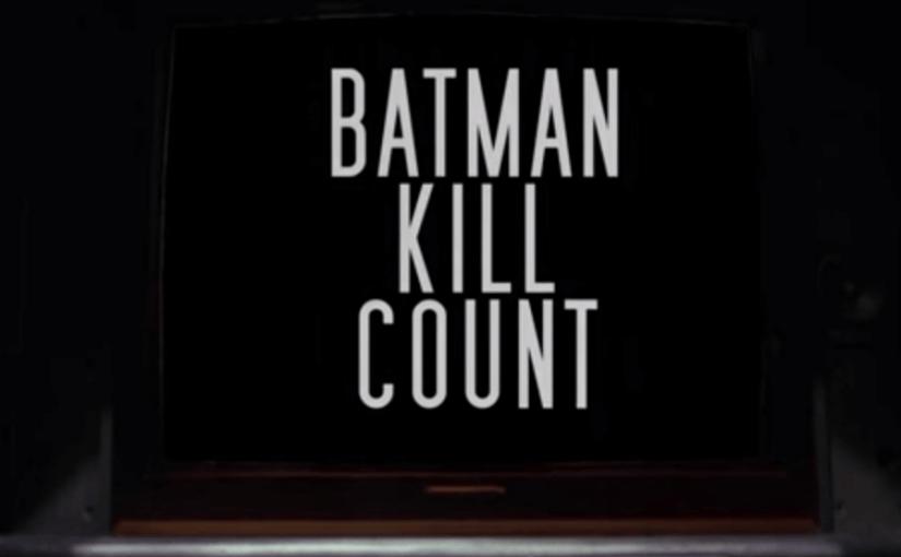 Resumen de las muertes en películas de Batman a manos de este