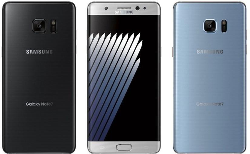 Galaxy Note 7 presentado oficialmente