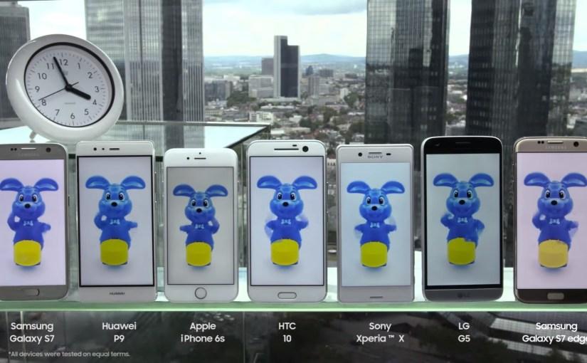 Samsung pone a prueba las baterías de los smartphone más populares
