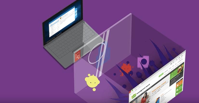 Microsoft Edge en entorno virtual