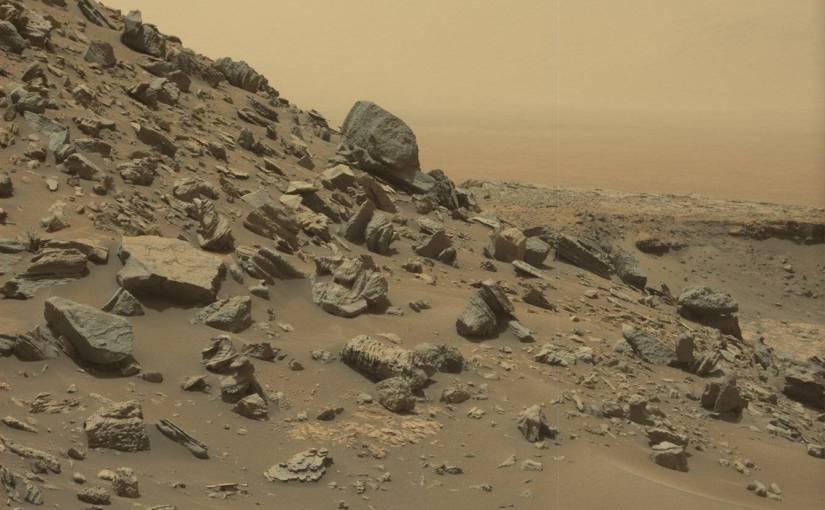 Nuevas fotos de Marte tomadas por el explorador Curiosity