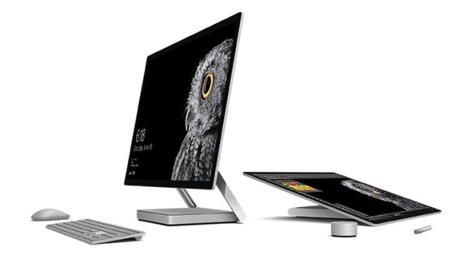 Microsoft Surface Studio press images