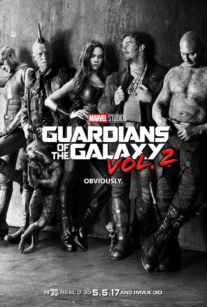 Guardianes de la Galaxia volumen 2, trailer y poster oficiales