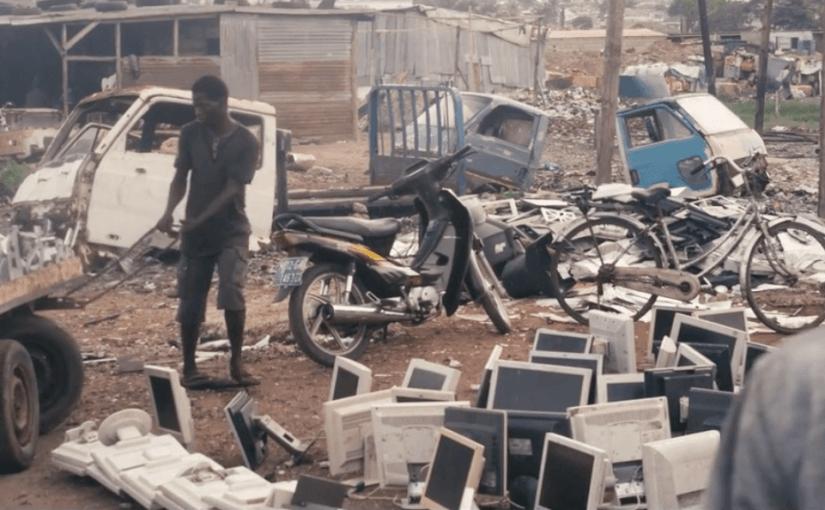El basurero de desechos electrónicos más grande del mundo