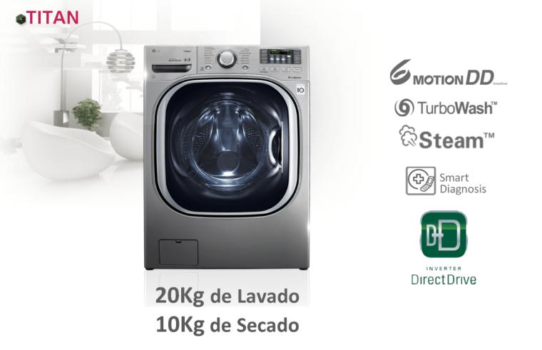 Publicidad, LG Titan lavarropas