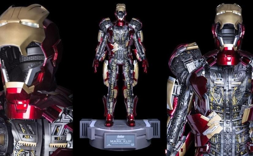 Traje de Iron Man tamaño real para coleccionar