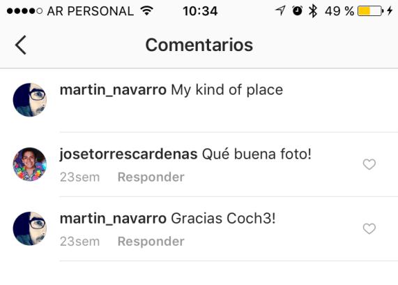 instagram permite darle like a los comentarios
