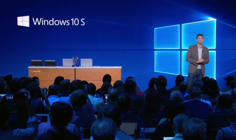 Windows 10 S, presentación