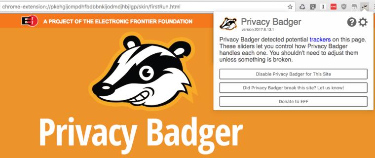 Privacy Badger, protege tu privacidad en internet