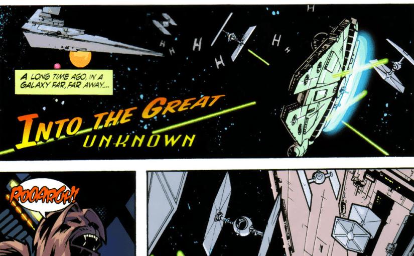 Cuando Han Solo y Chewbacca aterrizaron en la tierra