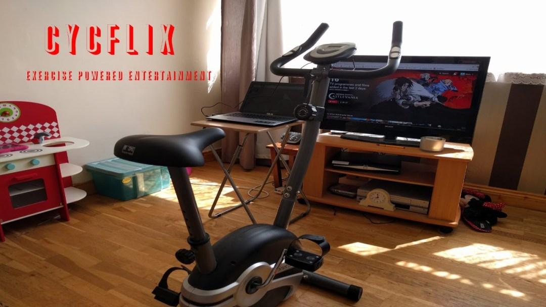 Cycflix, pedalea para ver Netflix sin interrupciones