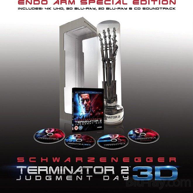 Terminator 2 edición coleccionista 4K blu-ray