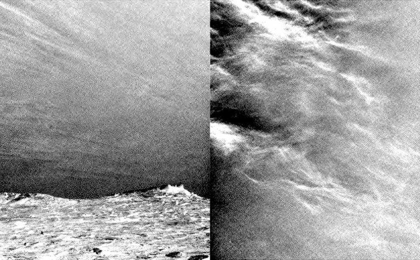 Las nubes de marte en time lapse tomado por Curiosity