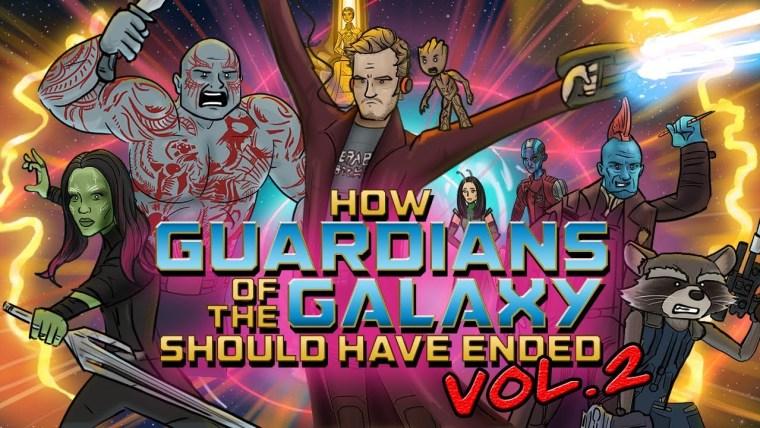 Guardianes de la Galaxia 2, como debería haber terminado