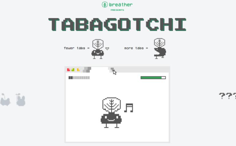 Tabagotchi, mantén al mínimo las pestañas de Chrome o esta mascota virtual muere