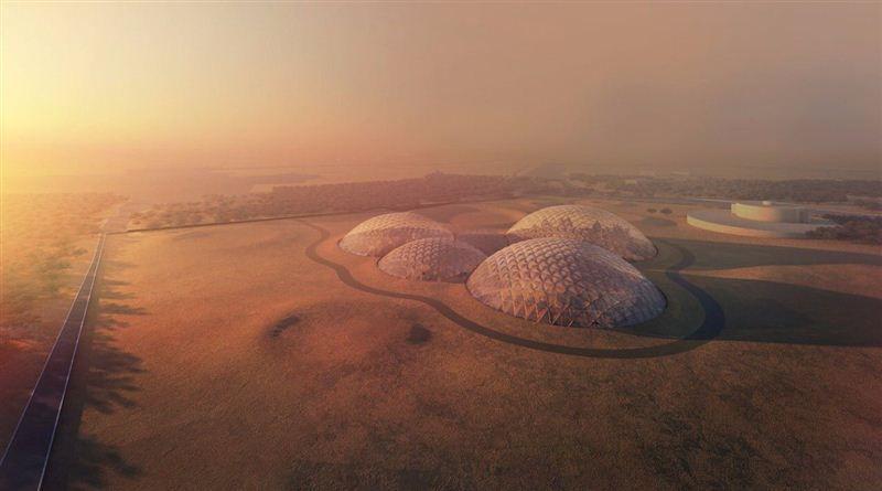 Construirán en Dubai un prototipo de ciudad marciana