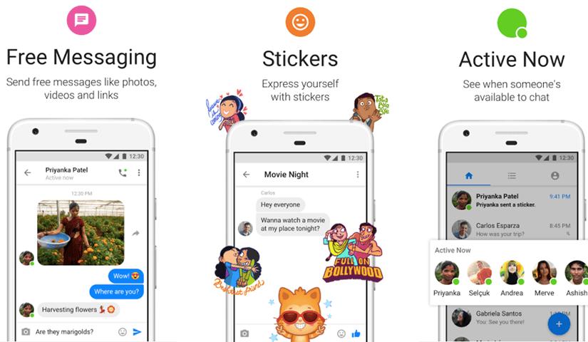 Messenger lite para Android