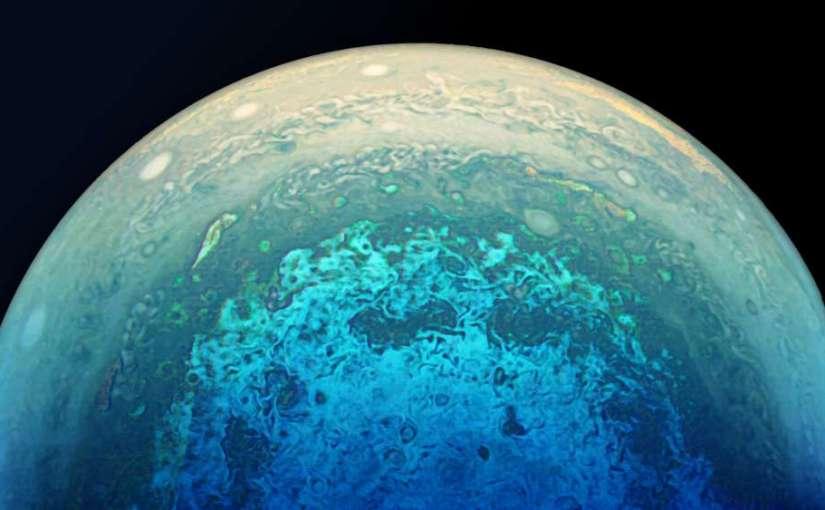 Juno sigue sorprendiendo con nuevas fotografías de Júpiter