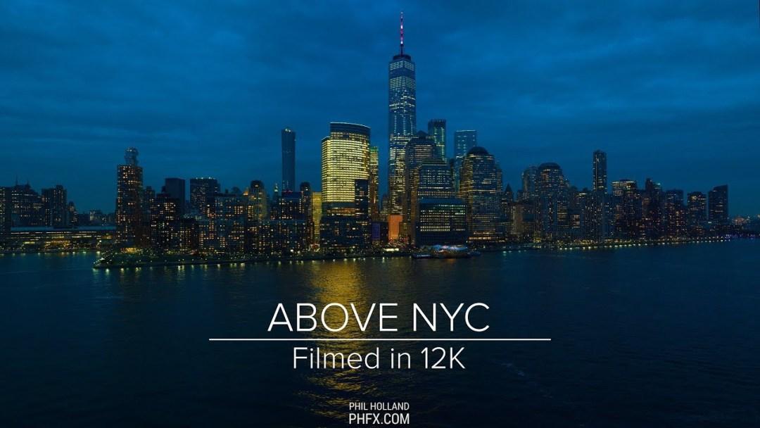 Un sobrevuelo por NYC con resolución de 12K