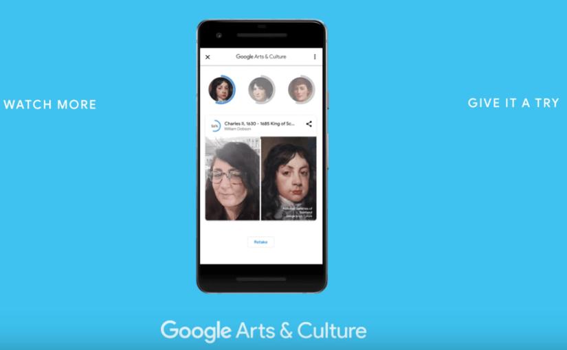 Encuentra tu parecido en obras de arte con solo tomarte una selfie
