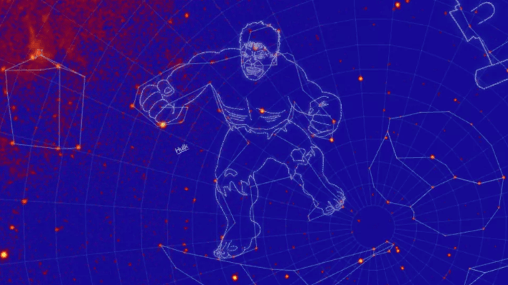 Hulk Gamma constellation