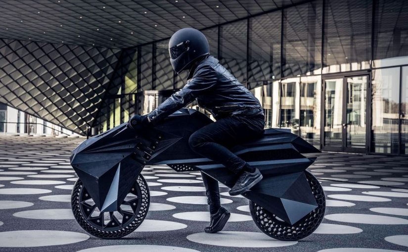 La motocicleta eléctrica fabricada con impresión 3D