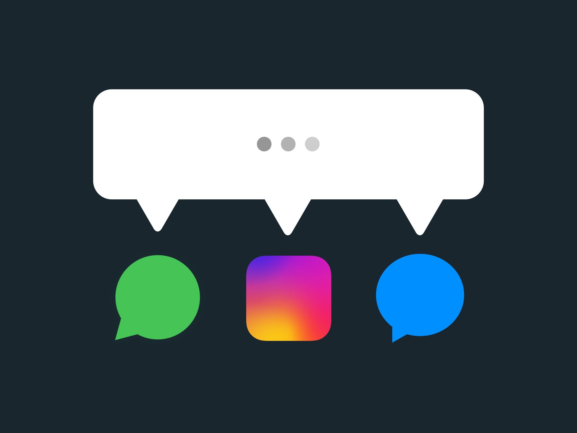 Facebook planea unificar las plataformas de mensajes de WhatsApp, Instagram y Messenger