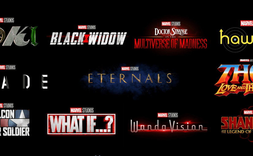 Marvel phase 4 MCU