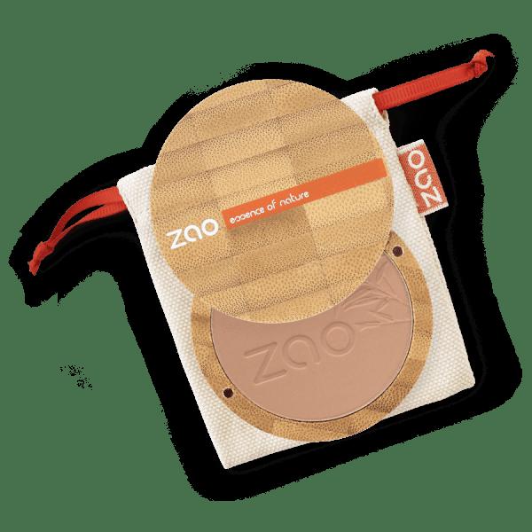 Poudre compacte Chocolat au lait 305 Zao Makeup