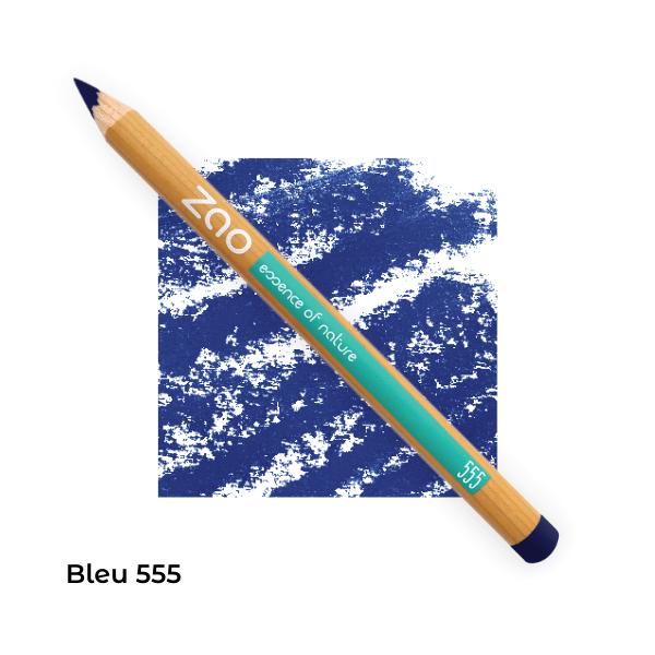 Crayons yeux bio multi-usages Brun clair 554 -- Zao Makeup