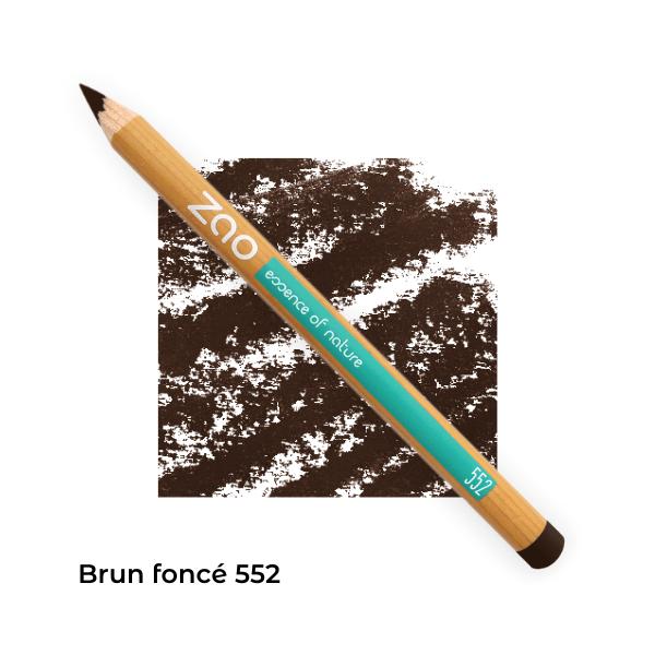 Crayon bio yeux Zao Makeup Brun foncé 552