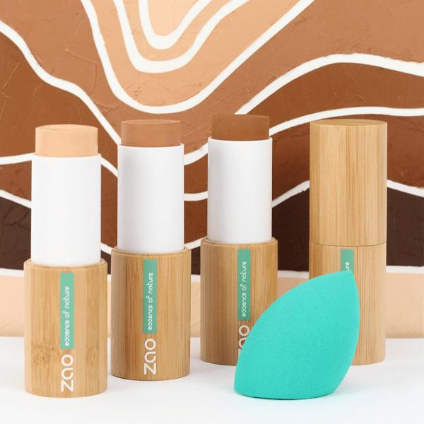 FOND DE TEINT STICK IMAGE COMMERCIALE - Zao Makeup
