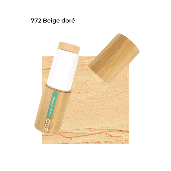 Fond de teint stick Beige Doré 101772 visu - Zao Makeup
