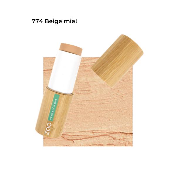 Fond de teint stick Beige miel 101774 visu - Zao Makeup