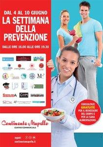 Locandina Settimana della prevenzione