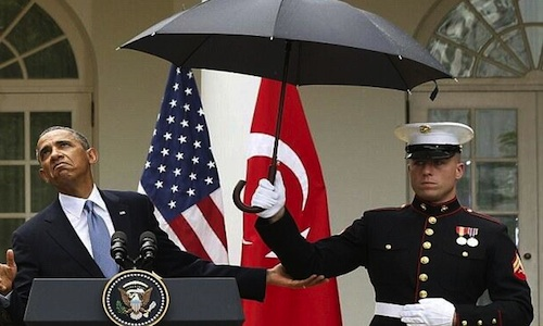 Don't Worry Mr. President, The Marines Got You Covered