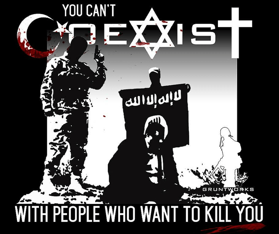 You Can't COEXIST With People Who Want to Kill You
