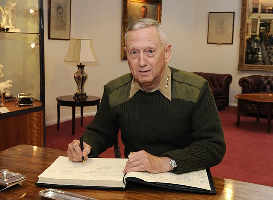 write in mattis for President