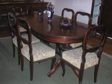 Muebles de comedor antiguos estilo isabelino  mejor precio  unprecioes