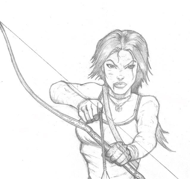 Lara Croft Tomb Raider Commission.