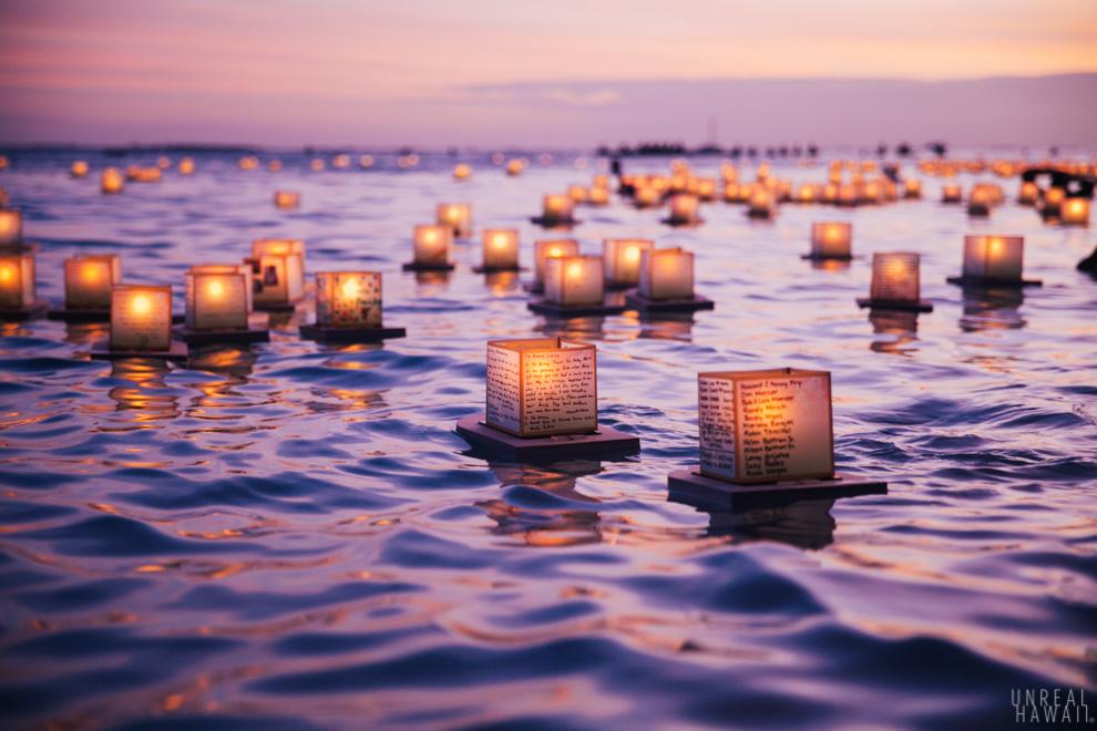Lantern Floating Hawaii Ceremony  UnrealHawaiicom