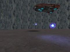 Screenshot of the Monster Hunt map, Birdbrained Research, showing the final boss.