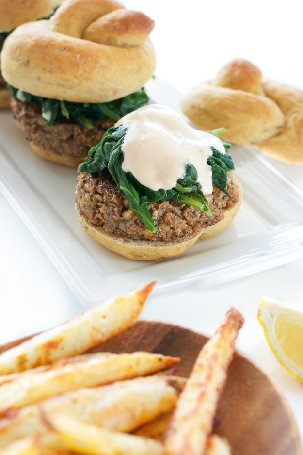 Hoppin' John Sliders by An Unrefined Vegan